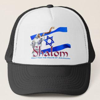 Boné SHALOM Pray para a paz de Jerusalem