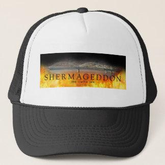 Boné Shermageddon - o chapéu do engarrafamento