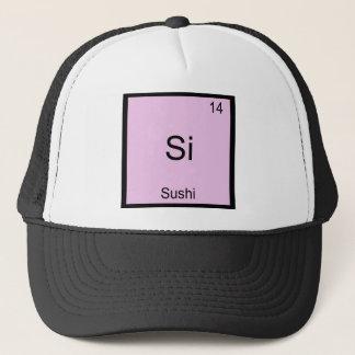 Boné Si - T-shirt engraçado do símbolo do elemento da