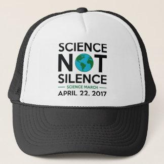 Boné Silêncio da ciência não
