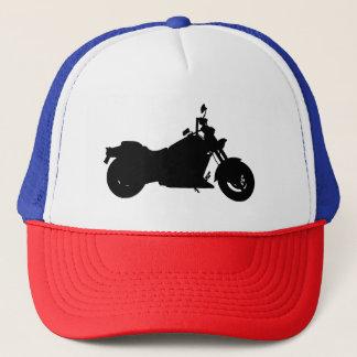 Boné Silhueta da motocicleta
