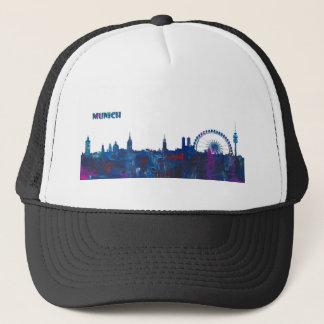 Boné Silhueta da skyline de Munich