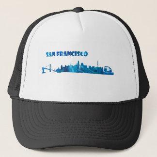 Boné Silhueta da skyline de San Francisco