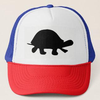 Boné Silhueta da tartaruga