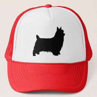 Boné Silhueta de Terrier de seda
