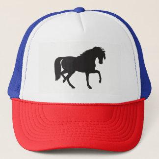 Boné Silhueta do cavalo
