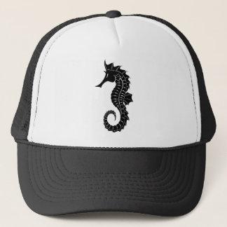 Boné Silhueta do cavalo marinho