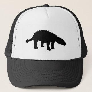 Boné Silhueta do dinossauro de Dino do Ankylosaurus