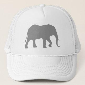 Boné Silhueta do elefante africano