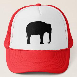 Boné Silhueta do elefante asiático