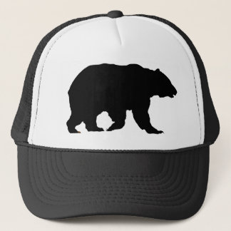 Boné Silhueta do urso de urso do chapéu do urso