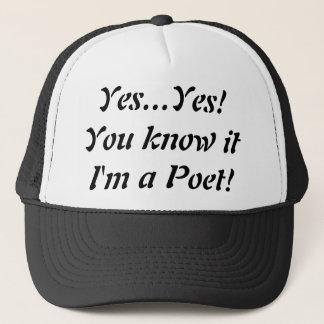 Boné Sim eu sou um chapéu do camionista do poeta! …
