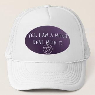 Boné Sim eu sou uma bruxa, negócio com ele!