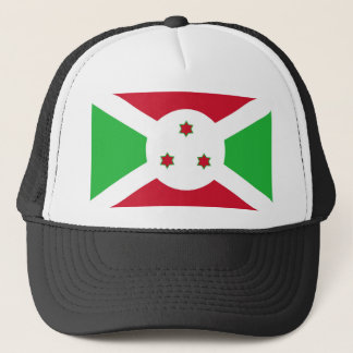 Boné Símbolo da bandeira de país de Burundi por muito