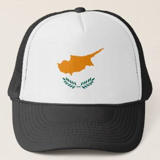 Boné Símbolo da bandeira de país de Chipre por muito
