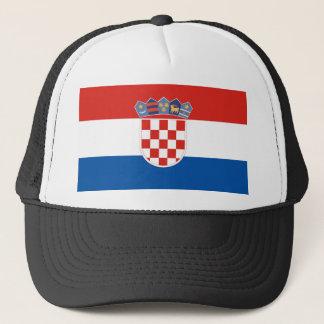 Boné Símbolo da bandeira de país de Croatia por muito