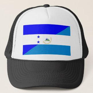 Boné símbolo do país da bandeira de honduras Nicarágua