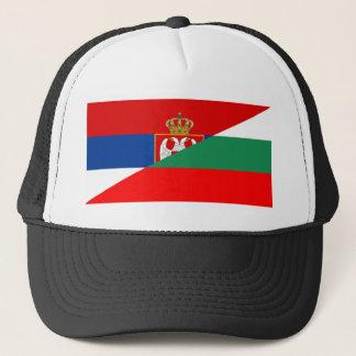 Boné símbolo do país da bandeira de serbia Bulgária