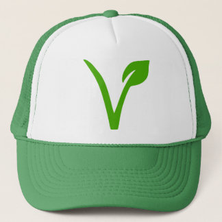 Boné símbolo do vegetariano, vegetarianos, vegetariano,