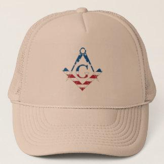 Boné Símbolo dos EUA Freemasonic