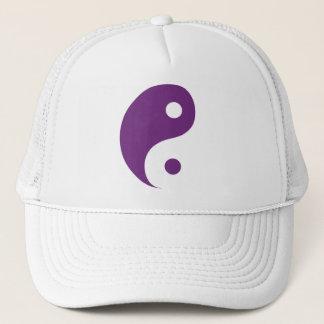 Boné Símbolo roxo da taoísta de Yin Yang