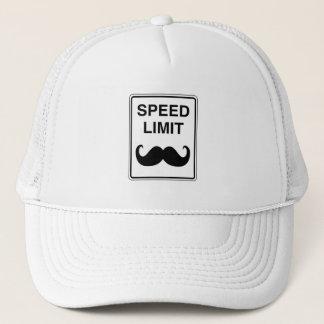 Boné Sinal do Mustachio do limite de velocidade