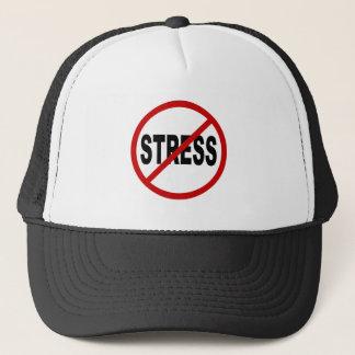 Boné Sinal permitido esforço do ódio Stress/No