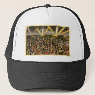 Boné Skyline da Nova Iorque do vintage