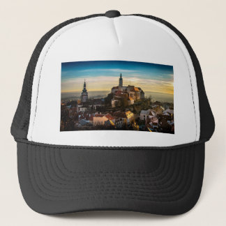 Boné Skyline da república checa