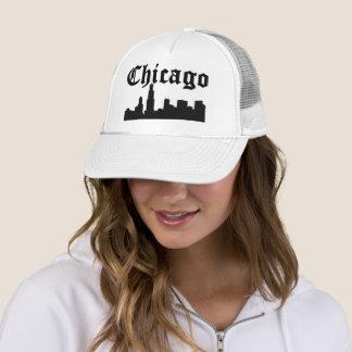 Boné Skyline da silhueta de Chicago