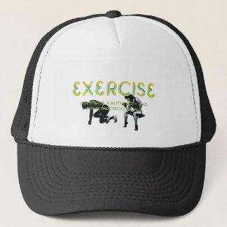 Boné Slogan SUPERIOR do exercício