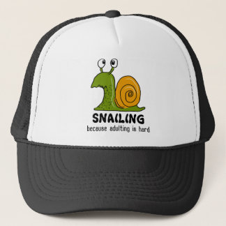 Boné Snailing… porque adulting é duro