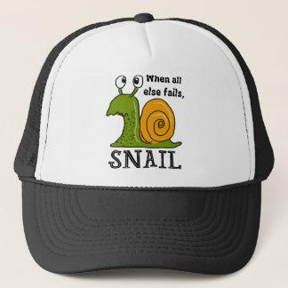 Boné Snailing… quando falhar toda mais