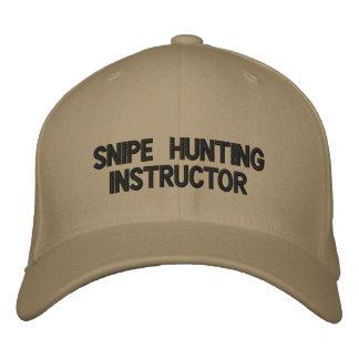 Boné snipe o chapéu do instrutor da caça