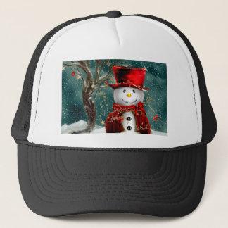 Boné Snowmans bonitos - ilustração do boneco de neve