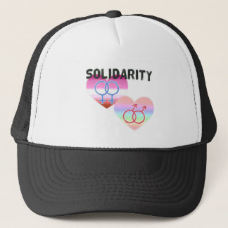 Boné Solidariedade alegre lésbica
