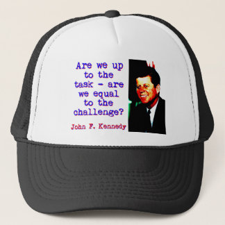 Boné Somos nós até a tarefa - John Kennedy