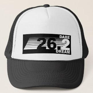Boné Sonho do desafio 2 - chapéu de 26,2 maratonas -