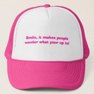 Boné Sorriso, faz pessoas querer saber que seu até!