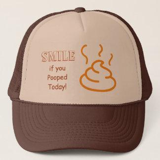 Boné Sorriso se você Pooped hoje