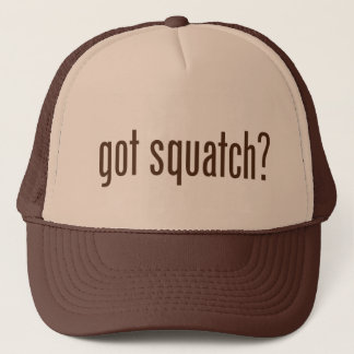 Boné Squatch obtido? Chapéu do camionista
