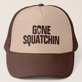 Boné Squatchin ido - Brown/silhueta tan