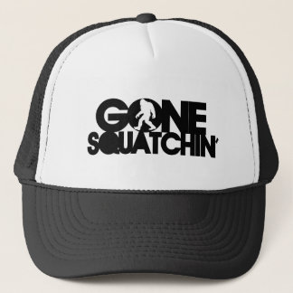 Boné Squatchin ido com silhueta