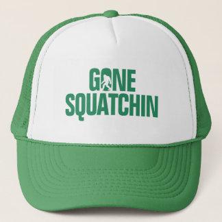 Boné Squatchin ido - silhueta do verde/a branca