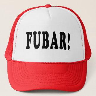 Boné Squidbillies FUBAR! Chapéu do camionista