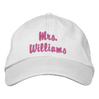 Boné Sra. bonito super Embroidered Chapéu