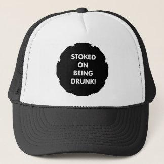 Boné Stoked em estar bêbedo!