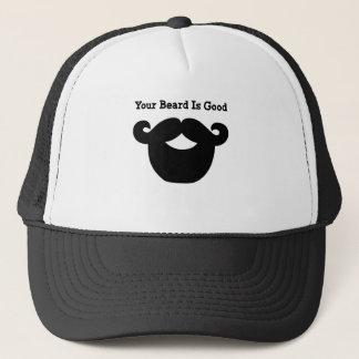 Boné sua barba é boa