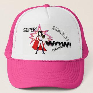 Boné Super, wow! chapéu surpreendente com um