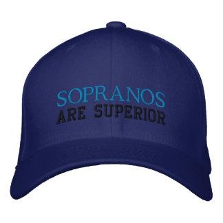 Boné superior do soprano engraçado